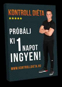 Kontrolldiéta fogyókúra ingyen 1 nap próba diétás nap