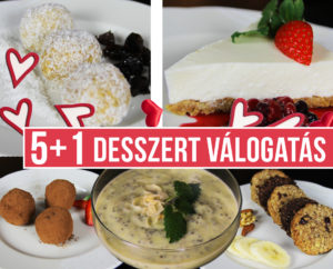 igyenes desszert recept válogatás Turú Balázs Kontroldiéta fogyókúra