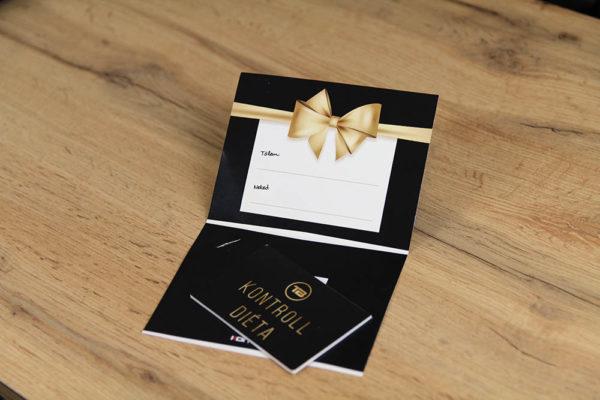 ajándék kártya kontrolldiéta