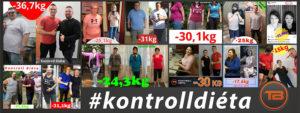 kontrolldiéta fogyókúra diéta sikeres történetek képek