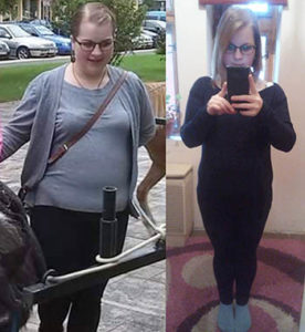 Anikó sikeres fogyókúra története képekkel diéta Kontrolldiéta
