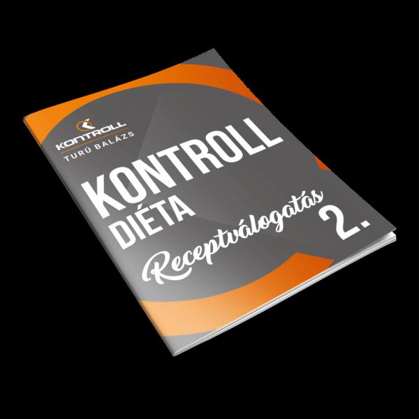 Kontrolldiéta receptválogatás 2. kötet